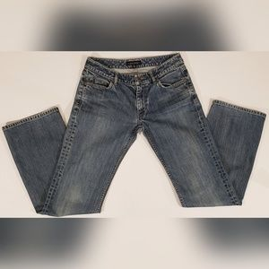 Banana Republic Low Rise Boot Cut Stretch Jeans